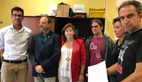 Demanen a la subdelegada del govern que retiri la Policia i la Guàrdia Civil de Lleida