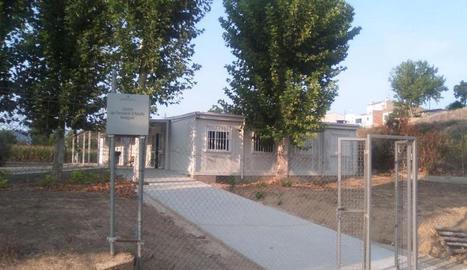Vistes del centre de formació per a adults de Balaguer.