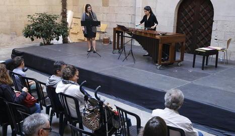 El concert de clausura del Musiquem Lleida! ahir a l'Auditori Enric Granados.