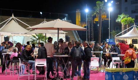 Una edició anterior de la Festa del Vi de Lleida.