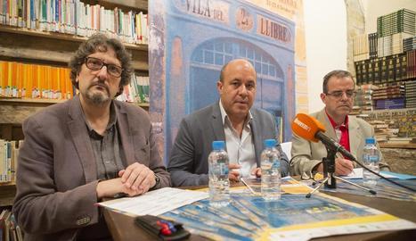 Presentació ahir de la segona edició de Cervera, Vila del Llibre.