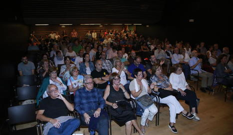 De Lleida ciutat al Parlament plens d'estelades.