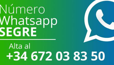 Seguim amb WhatsApp
