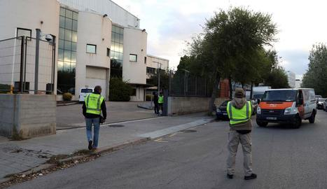 Instal·lacions d'Unipost a l'Hospitalet de Llobregat.