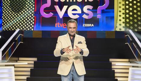 Imatge promocional del periodista Carlos Herrera i el seu programa.