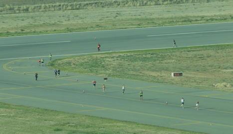 La prova va celebrar ahir la cinquena edició amb uns 400 atletes a la línia de sortida.
