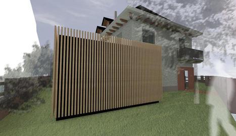 Imatge virtual que mostra com serà la seu del consell.