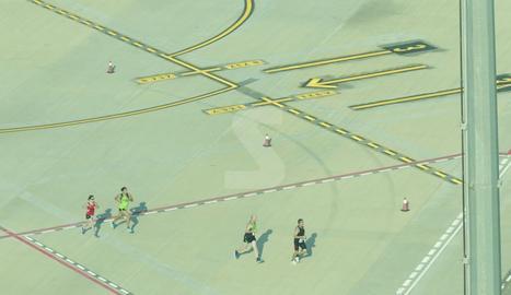 Cursa 10km a l'aeroport d'Alguaire