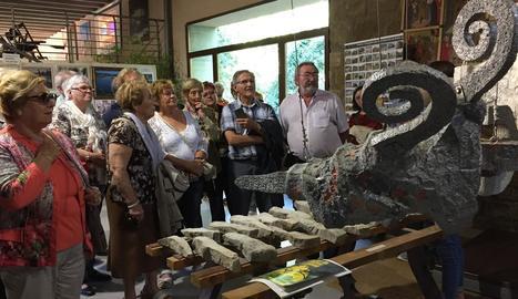 Una de les visites guiades per municipis de la Noguera.