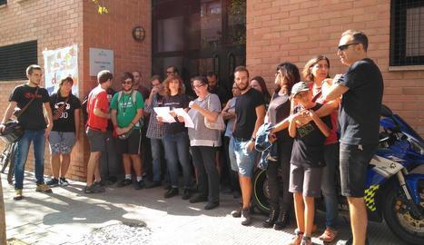Dotze col·lectius de Lleida reclamen aplicar el resultat de l'1-O
