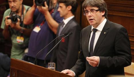 Creix la pressió sobiranista perquè Puigdemont activi la independència