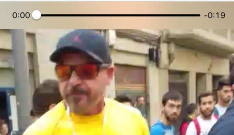 protagonistes. La Policia Nacional va fer córrer la foto d'un agent suposadament ferit a Lleida l' 1-O. El dia de la vaga va circular el vídeo d'un fals policia infiltrat.
