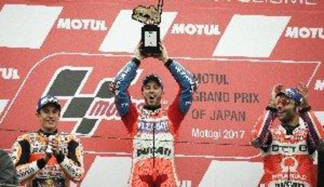 Marc Màrquez és segon al Japó i Àlex guanya la cursa de Moto2