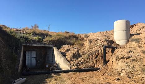 Imatge dels treballs que s'han dut a terme a Aitona.