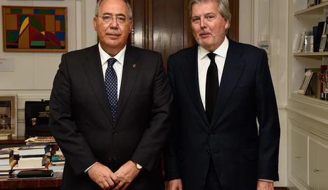 El rector de la UdL es reuneix amb Méndez de Vigo