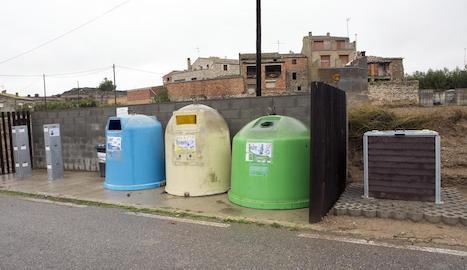 Les noves instal·lacions de recollida a Vergós.