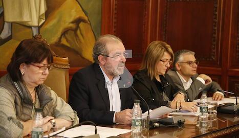 El ple de la Diputació de Lleida d'aquest divendres, 20 d'octubre.