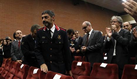 Trapero, ovacionat en la inauguració del curs acadèmic de l'ISPC.