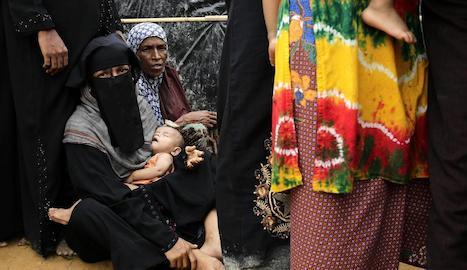 Nens rohingyes, exposats a greus perills
