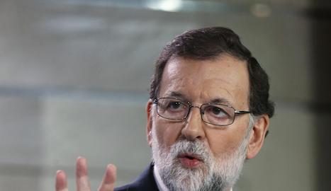 El president del Govern, Mariano Rajoy
