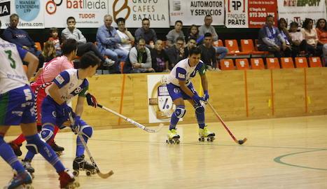 L'ICG Lleida salva un punt 'in extremis'