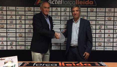 Acord de col·laboració entre Força Lleida i Sant Joan de Déu