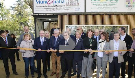 L'acte inaugural de Municipàlia i Innocamping