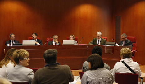 Conferència sobre l'empresa familiar ahir a la UdL.
