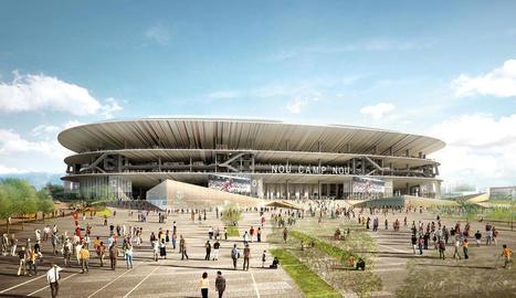 El Camp Nou és a prop de tenir un cognom milionari.
