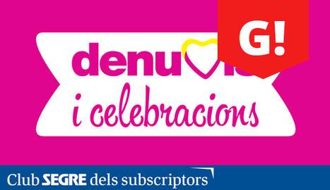 Cartell de la 19a edició de la fira DeNuvis i celebracions.