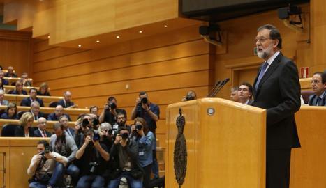 Rajoy aquest divendres al Senat