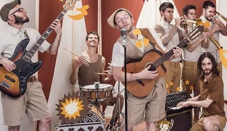 Imatge promocional del grup català Oques Grasses.