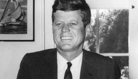 L'expresident nord-americà John F. Kennedy, assassinat el 1963.