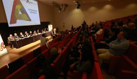 L'assemblea general d'ActelGrup va tenir lloc ahir a la Llotja de Lleida.