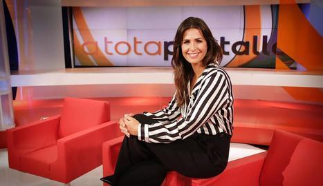 La presentadora valenciana, en una imatge promocional.