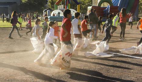 Prop de 400 nens a les Miniolimpíades del Pont de Suert