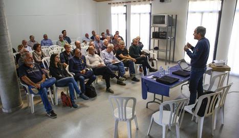 La llar de jubilats d'Artesa de Lleida va acollir ahir les jornades del Memorial Felip Domènech.