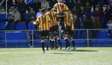 El Lleida arrenca un punt al camp de l'Ebre