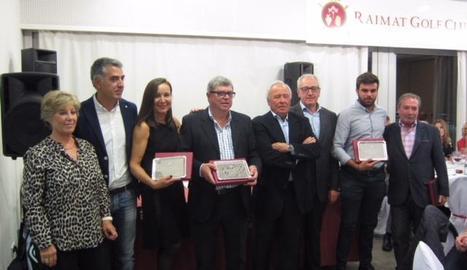 A la imatge, els guanyadors del torneig.