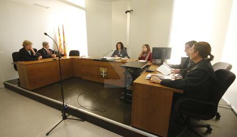 L'acte conciliació aquest dimarts als jutjats de Lleida