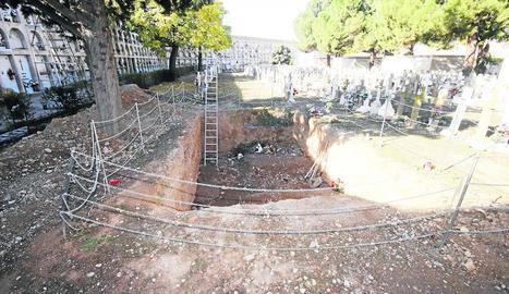 Una persona d'origen búlgar enterrada a Guissona.