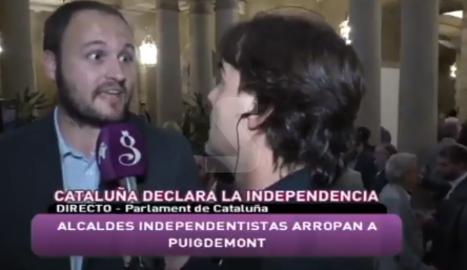 VÍDEO. Les respostes de l'alcalde de Castellserà a Intereconomia es van virals