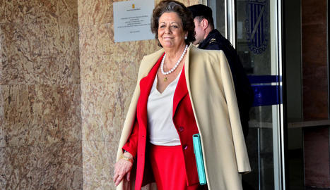 L'extresorer del PP Álvaro Lapuerta i l'exalcadessa de València Rita Barberá.