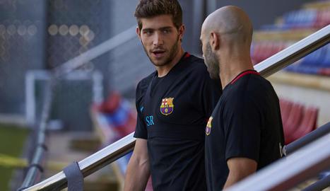 Sergi Roberto no jugarà durant el mes de novembre.