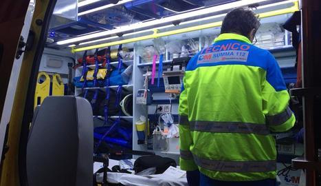Facultatius del Centre d'Emergències de Madrid.