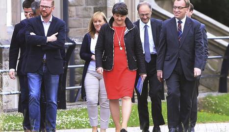 La líder del Partit Democràtic Unionista (DUP), Arlene Foster.