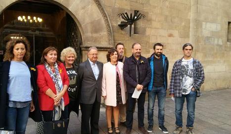 L'oposició de la Paeria condemna en bloc l'empresonament del Govern i demanen una rectificació de les declaracions de Ros