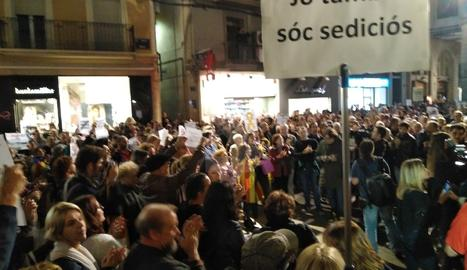 Concentració a la plaça Paeria aquest divendres
