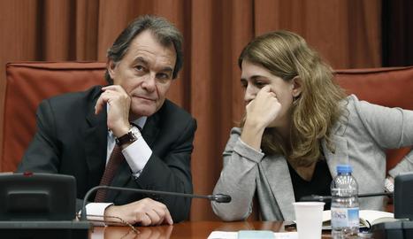 Artur Mas i Marta Pascal