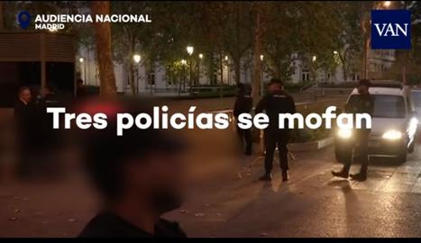 Una captura del vídeo publicat aq